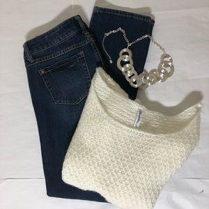 CAbi Jeans Straight Leg Size 2